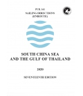 Sailing Directions Pub. 161 South China Sea and the Gulf of Thailand, 17th Edition 2020