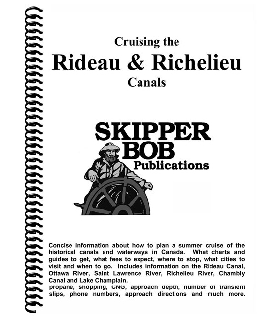 Cruising the Rideau and Richelieu Canals, 22nd Edition 2020