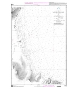 OceanGrafix French (SHOM) Nautical Chart 1700 Baie de Tetouan