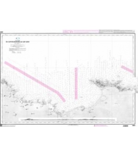 OceanGrafix French (SHOM) Nautical Chart 3061 Du Cap Bougaroni au Cap Axin