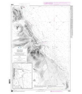 OceanGrafix French (SHOM) Nautical Chart 4102 Sousse