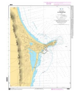 OceanGrafix French (SHOM) Nautical Chart 4086 Al Mahdiyah