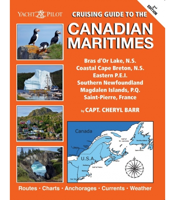 Cruising Guide to the Canadian Maritimes, 2nd Edition 2020