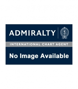British Admiralty Nautical Chart 90 International Chart Series, North Sea, Netherlands and Germany, Entrance to River Ems