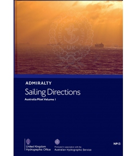 Admiralty Sailing Directions NP13 Australia Pilot, Vol. I, 6th Edition 2020