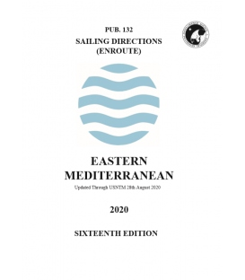 Sailing Directions Pub. 132 Eastern Mediterranean, 16th Edition 2020
