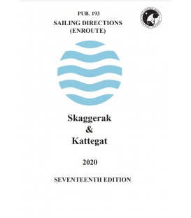 Sailing Directions Pub. 193 Skaggerat & Kattegat, 17th Edition (2020)