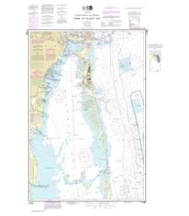 NOAA Chart 11465 Intracoastal Waterway Miami to Elliot Key