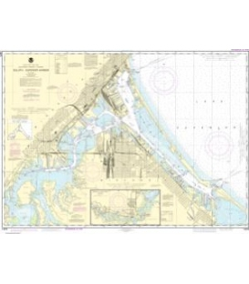 NOAA Chart 14975 Duluth-Superior Harbor - Upper St. Louis River