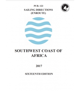 PUB 123 - Sailing Directions (Enroute): Southwest Coast of Africa, 16th Edition 2017