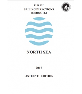 Sailing Directions Pub. 192 North Sea, 16th Edition 2017