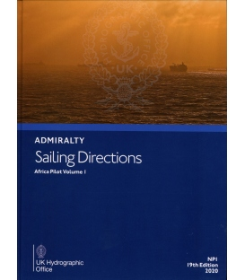 Admiralty Sailing Directions NP1 Africa Pilot Vol 1, 19th Edition 2020