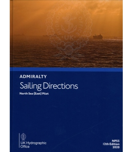 Admiralty Sailing Directions NP55 North Sea (East) Pilot, 12th Edition 2020