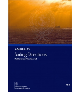 Admiralty Sailing Directions NP49 Mediterranean Pilot, Vol. V, 15th Edition 2020