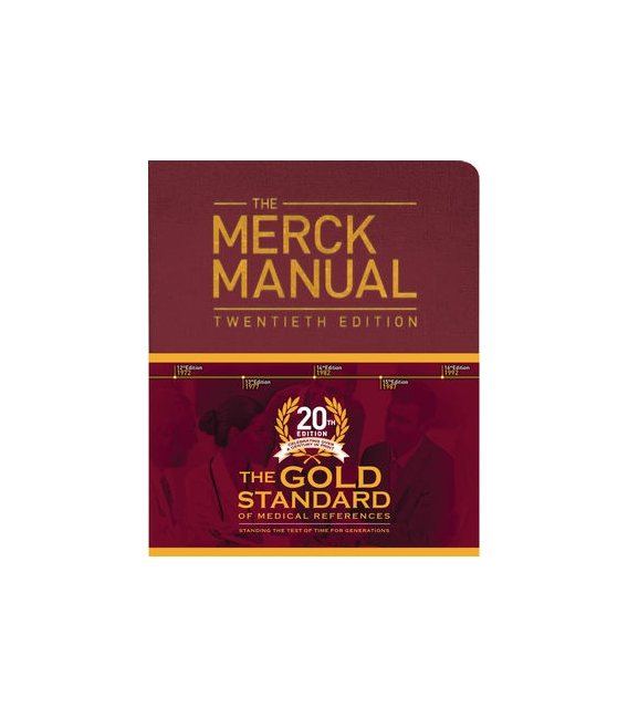 The Merck Manual of Diagnosis and Therapy, 20th Edition 2018