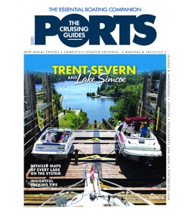 PORTS Cruising Guide: The Trent Severn & Lake Simcoe (2021 Edition)