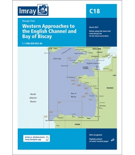 Imray Chart C18 Western Approaches to the English Channel & Bay of Biscay