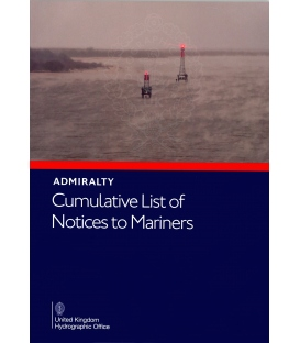Admiralty Cumulative List of Notices to Mariners, NP234(A) (Jan 2021)