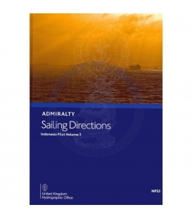 Admiralty Sailing Directions  NP35 Indonesia Pilot, Vol. 3  8th Edition 2021