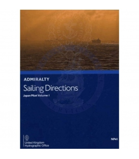 Admiralty Sailing Directions NP41 Japan Pilot, Vol. I, 13th (2021) Edition