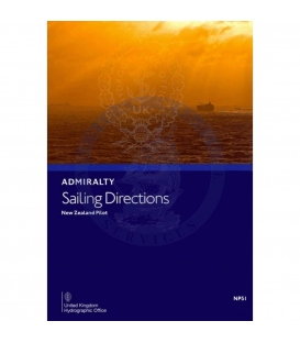 Admiralty Sailing Directions NP51 New Zealand Pilot, 20th Edition 2021