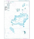 British Admiralty Nautical Chart 3 Chagos Archipelago