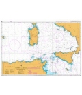 British Admiralty Nautical Chart 15 Approaches to Jizan