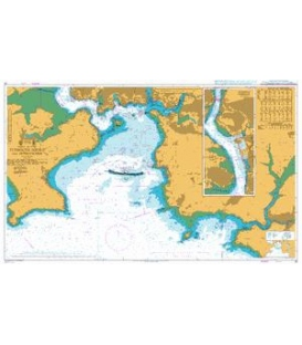 British Admiralty Nautical Chart 30 Plymouth Sound and Approaches