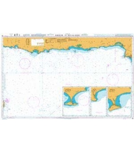 British Admiralty Nautical Chart 38 Karachi to Ra's al Hadd