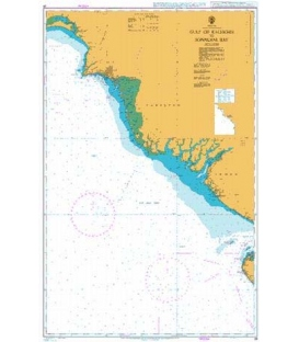 British Admiralty Nautical Chart 39 Gulf of Kachchh to Sonmiani Bay