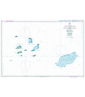 Britsh Admiralty Nautical Chart 94 Paracel Islands and Macclesfield Bank