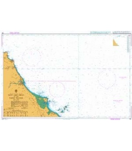 British Admiralty Nautical Chart 160 Saint Abb's Head to the Farne Islands