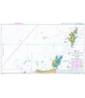 British Admiralty Nautical Chart 219 Western Approaches to the Orkney and Shetland Islands