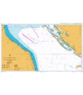 British Admiralty Nautical Chart 220 Otok Vis to Otok Susak and S. Benedetto del Tronto to Ravenna