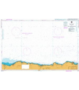 British Admiralty Nautical Chart 222 Buckie to Fraserburgh