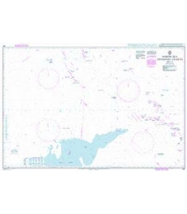 British Admiralty Nautical Chart 267 North Sea Offshore Charts Sheet 10