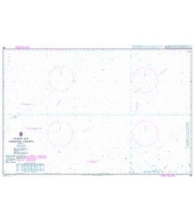 British Admiralty Nautical Chart 268 North Sea Offshore Charts Sheet 9
