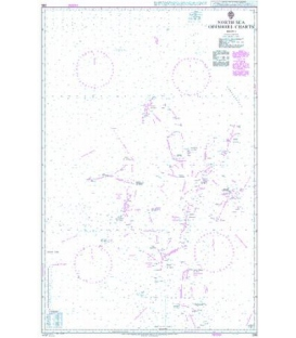 British Admiralty Nautical Chart 295 North Sea Offshore Charts Sheet 1