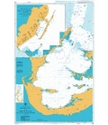British Admiralty Nautical Chart 332 Grassy Bay and Great Sound including Little Sound