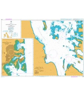 British Admiralty Nautical Chart 460 Massawa (Mits'iwa) and Approaches