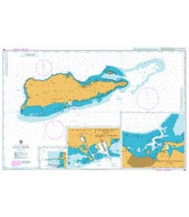 British Admiralty Nautical Chart 485 Saint Croix