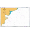 British Admiralty Nautical Chart 557 Mar del Plata to Comodoro Rivadavia