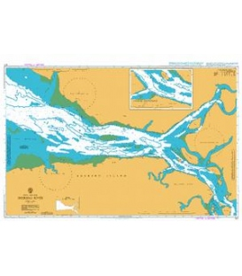 British Admiralty Nautical Chart 617 Sherbro River
