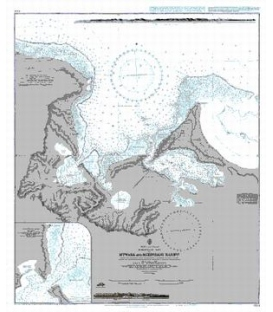 British Admiralty Nautical Chart 684 Mtwara and Mikindani Harbours