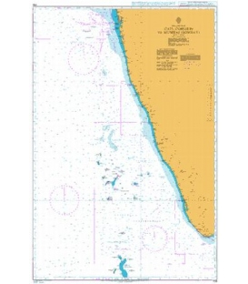 British Admiralty Nautical Chart 708 Cape Comorin to Mumbai (Bombay)