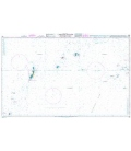 British Admiralty Nautical Chart 763 Caroline Islands (Western Part)