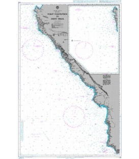 British Admiralty Nautical Chart 778 Point Conception to Point Pinos