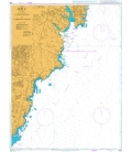 British Admiralty Nautical Chart 896 Ulsan Hang to Taebyon Hang