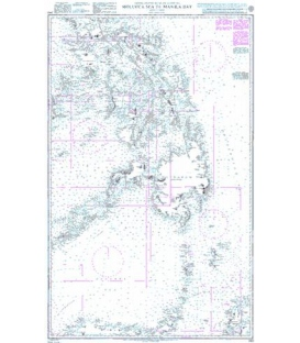 Britsh Admiralty Nautical Chart 943 Molucca Sea to Manila Bay