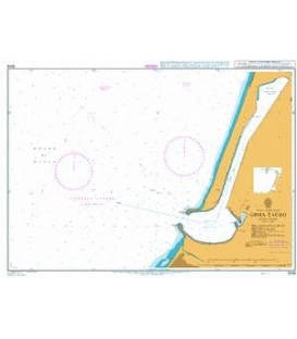 British Admiralty Nautical Chart 1019 Gioia Tauro